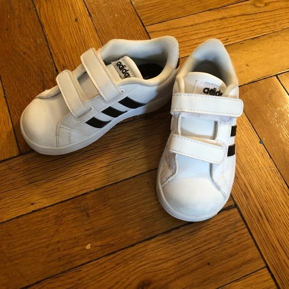 adidas Other - Toddler Baby Adidas Gazelle Neo Velcro Sneaker b639d40a3